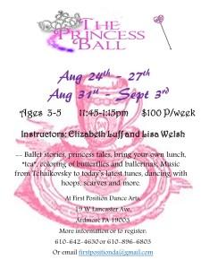 Princess Ball Flyer